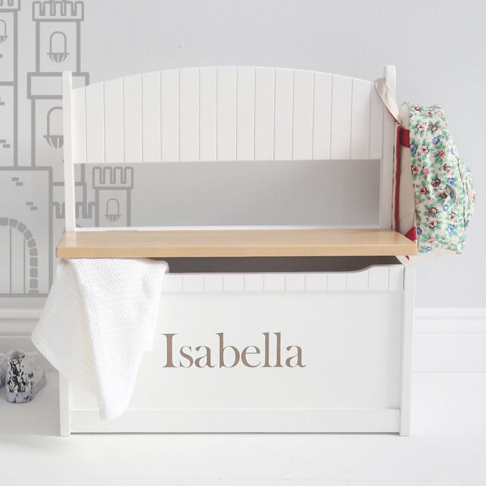 Personalised toy bench