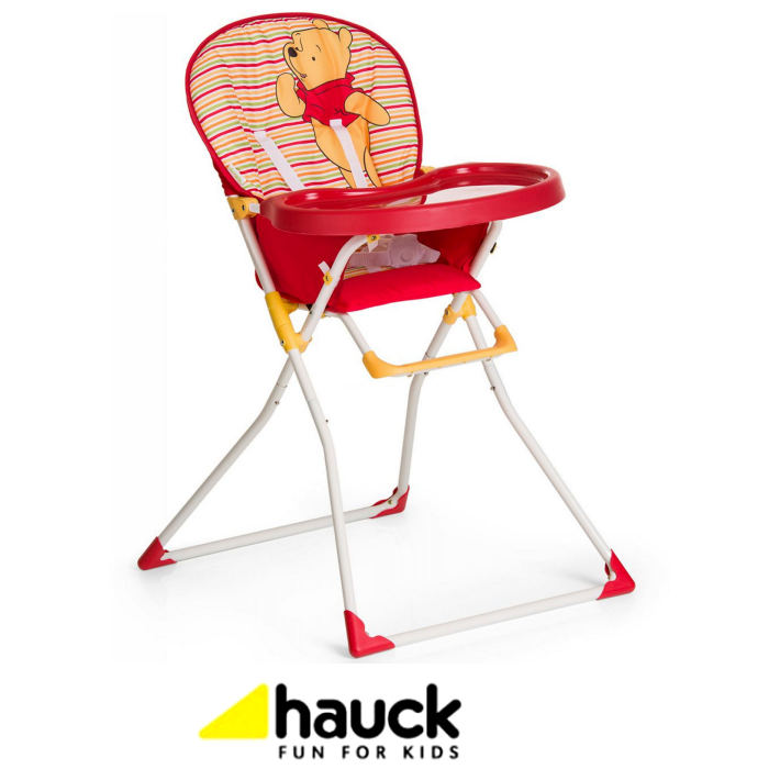 Hauck Disney Mac Baby Highchair - Pooh Spring Brights Red