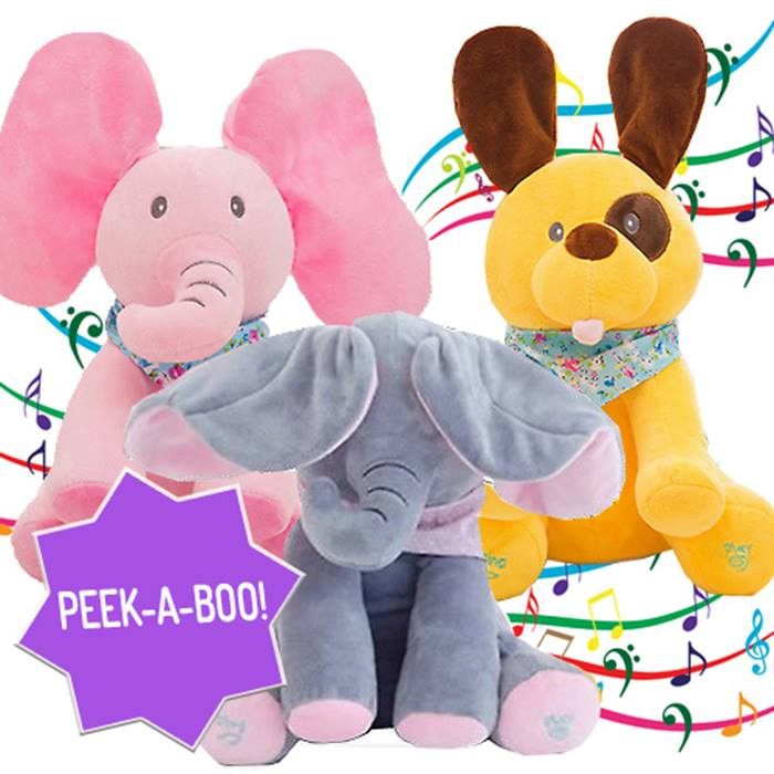 Peek-a-Boo Baby Toy - 3 Designs