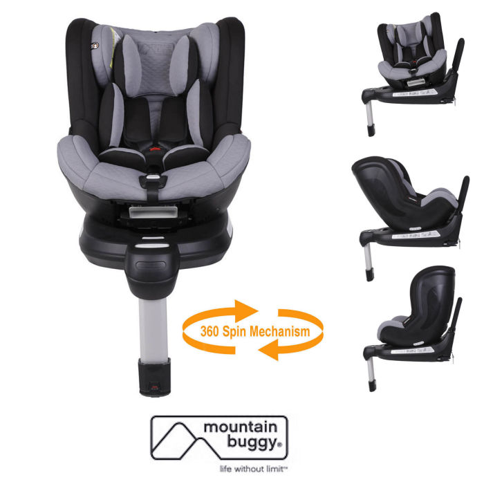 Mountain Buggy Safe 360 Rotate Group 01 Isofix Car Seat
