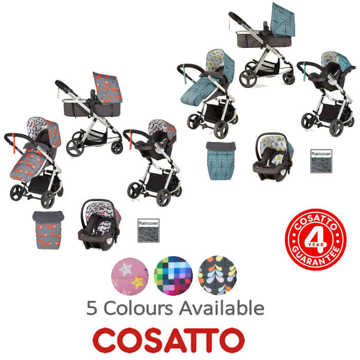 Cosatto Giggle Mix Pramette Travel System