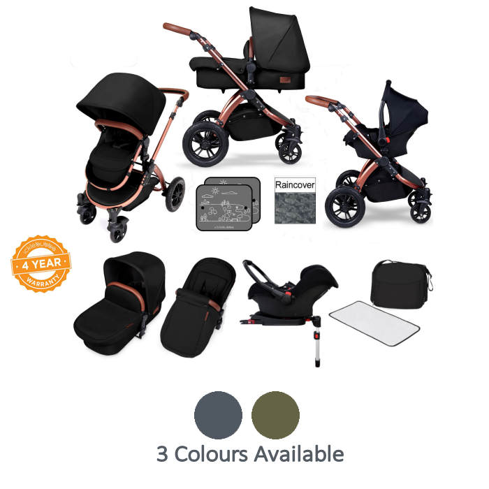Ickle bubba Special Edition Stomp V4 All In One Travel System  Isofix Base