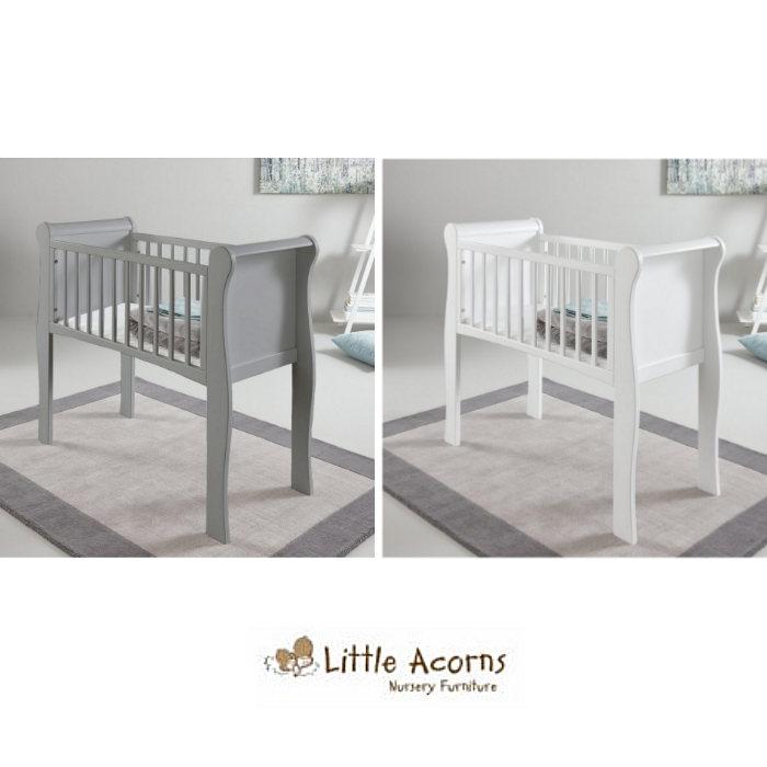 Little Acorns Sleigh Crib 2