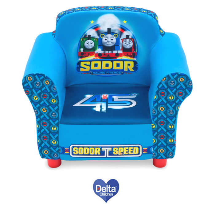 Delta Children Upholstered Chair - Thomas The Tank Engine