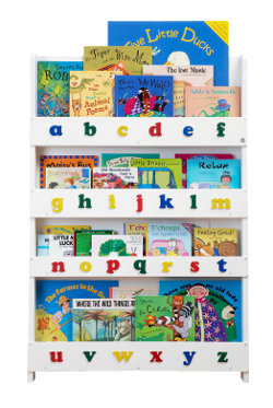 The Tidy Books Bookcase with Alphabet 250