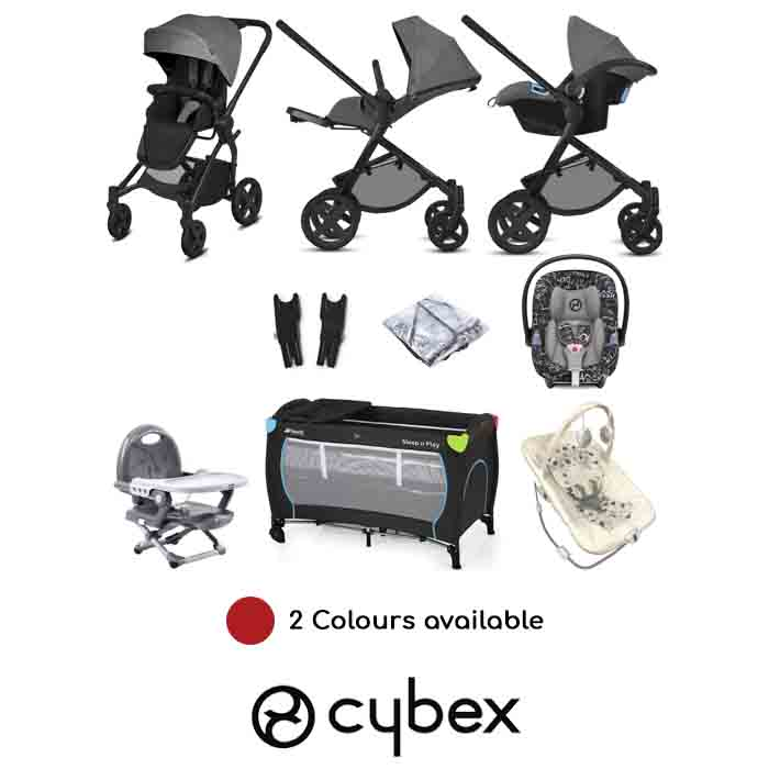 Cybex CBX Kody (Aton M i-Size) Everything You Need Travel System Bundle