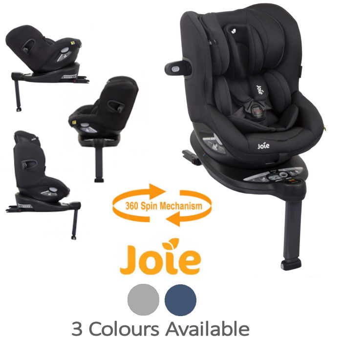 Joie i-Spin 360 iSize Group 0+1 Car Seat