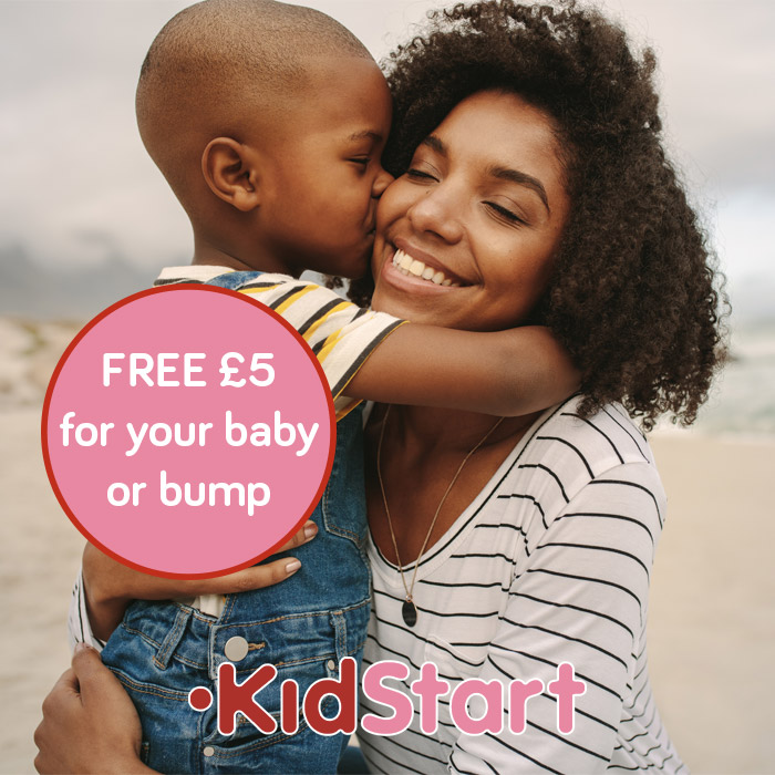 Free £5 for your baby or bump's future with KidStart
