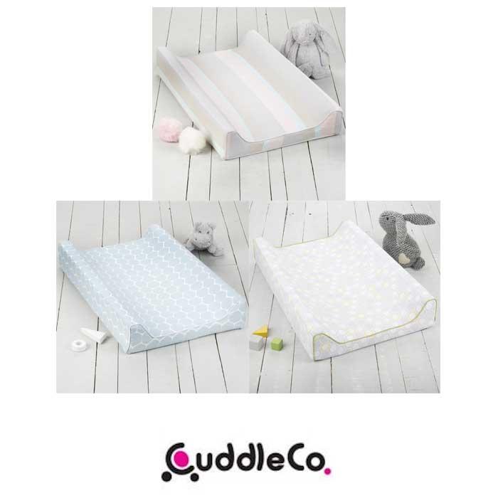 Cuddle Co Comfi-Love Luxury Memory Foam Soft Bamboo Designer Changing Mat