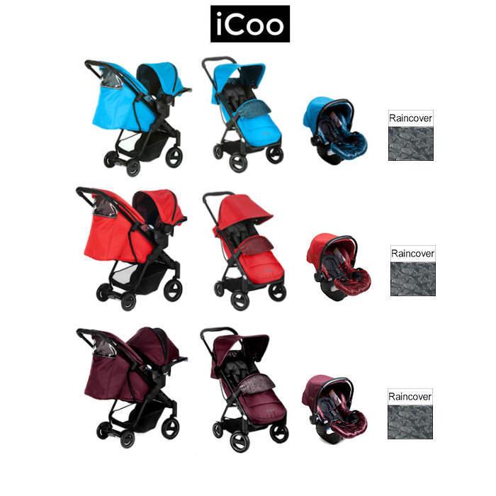 ICoo Acrobat Shop n Drive Travel System new