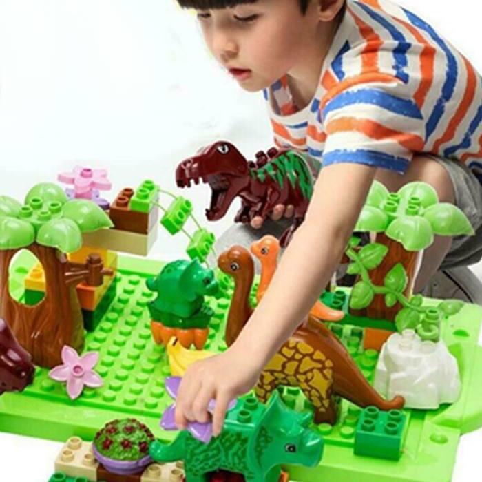 Kid's Dinosaur Assembling Building Blocks