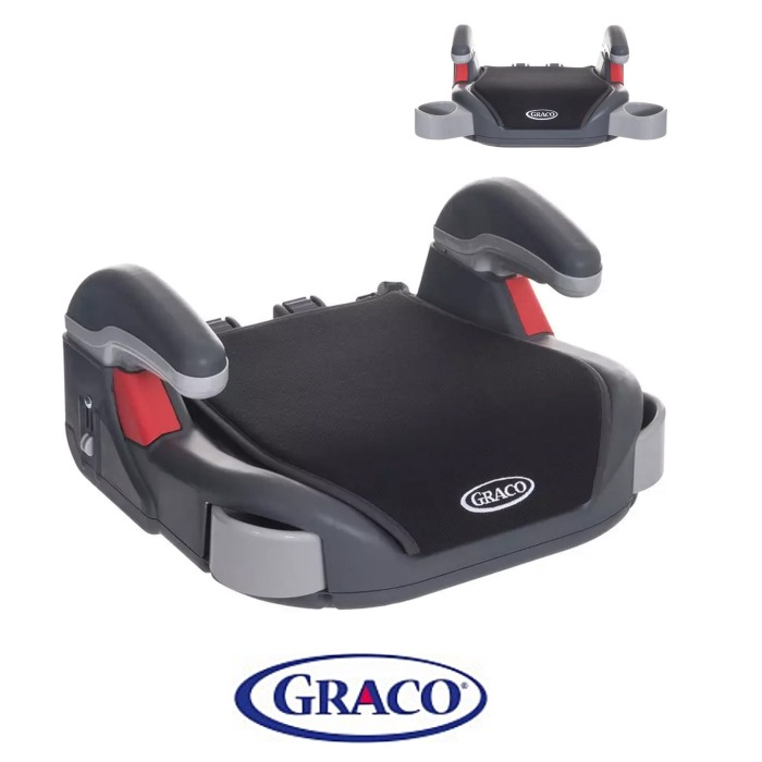 Graco Booster Basic Group 2/3 Car Seat - Midnight Black
