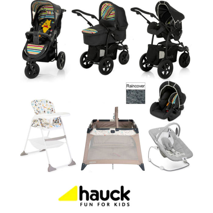 Hauck Viper All You Need Trio Set Travel System Bundle