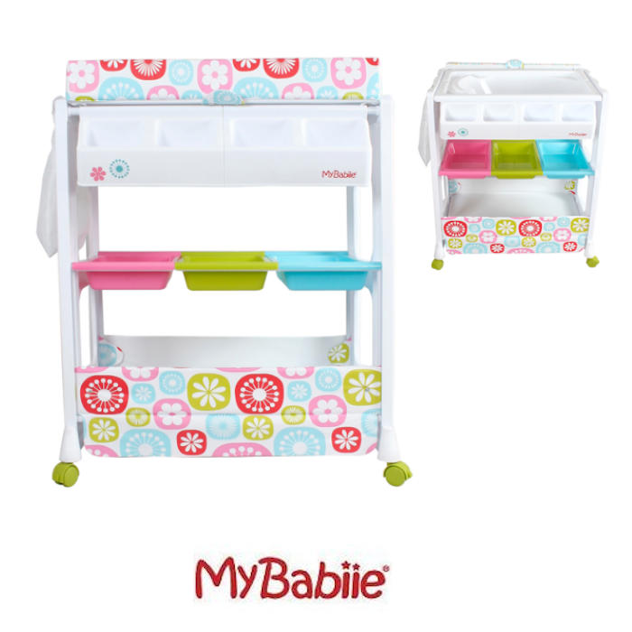 My Babiie Baby Bath Changing Unit Floral