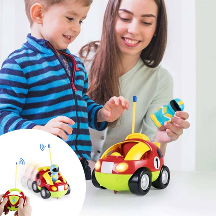My First Musical Remote Control Toy Car - 2 Designs