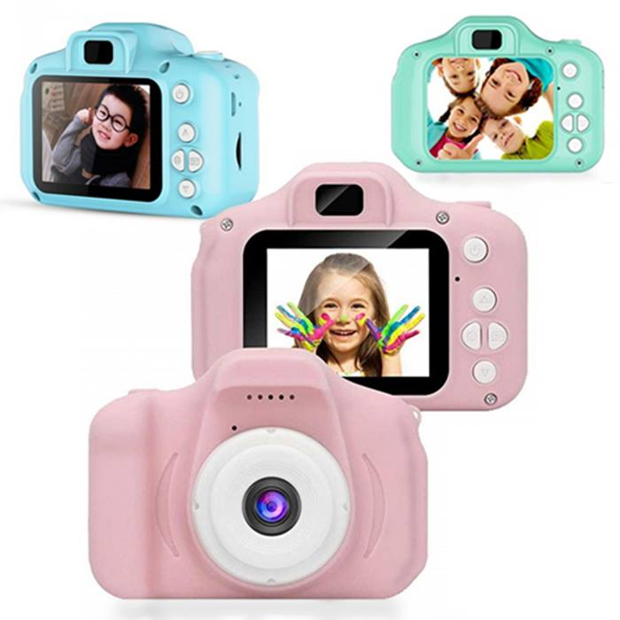Kids' Mini 1080p Digital Video Camera - 3 Colours & Optional SD Card!