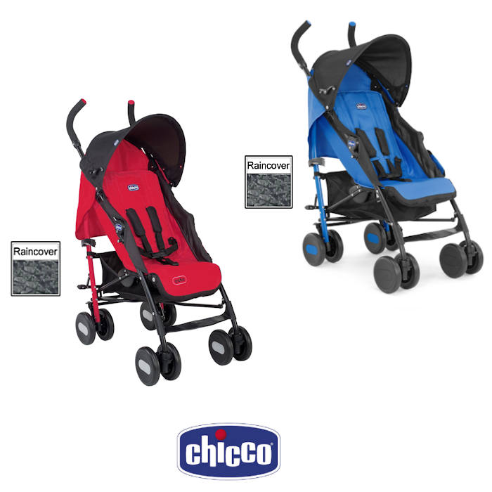 Chicco Echo Pushchair Stroller With Raincover
